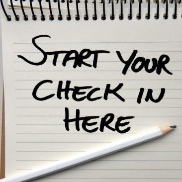 Check-in met uw inventory